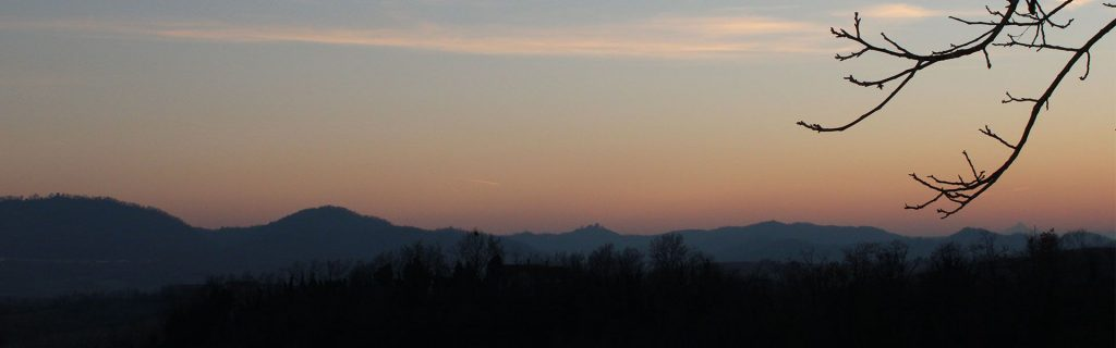 tramonto a solonghello